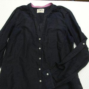 Women's Holding Horses Blouse Cotton Sz 10